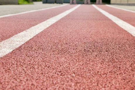 Bieżnia, Pas startowy, tekstury, asfaltu, wyścig, drogi, pole, Bruk