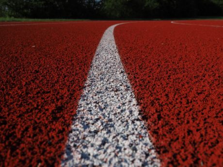 olympic, running track, runway, texture, ground, pattern, nature, dark