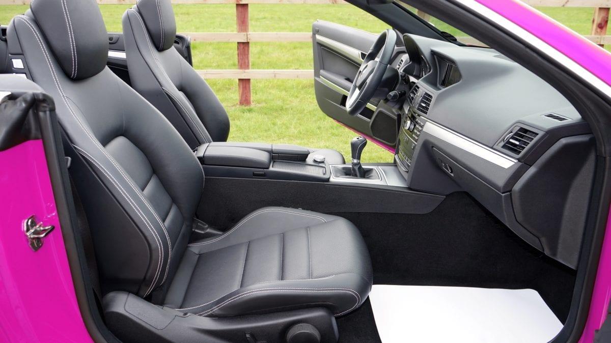 autosedačky, řídicí panel, Německo, růžová, čelní sklo, doprava, vozidlo, auto