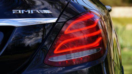 rear, automobile, auto, car, vehicle, helmet, fast, road