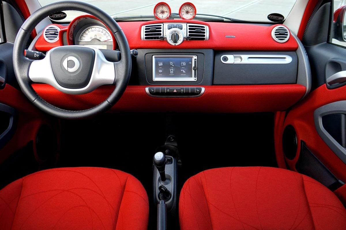 autostoel, cockpit, dashboard, versnellingspook, stuurwiel, Windscherm, auto, vervoer