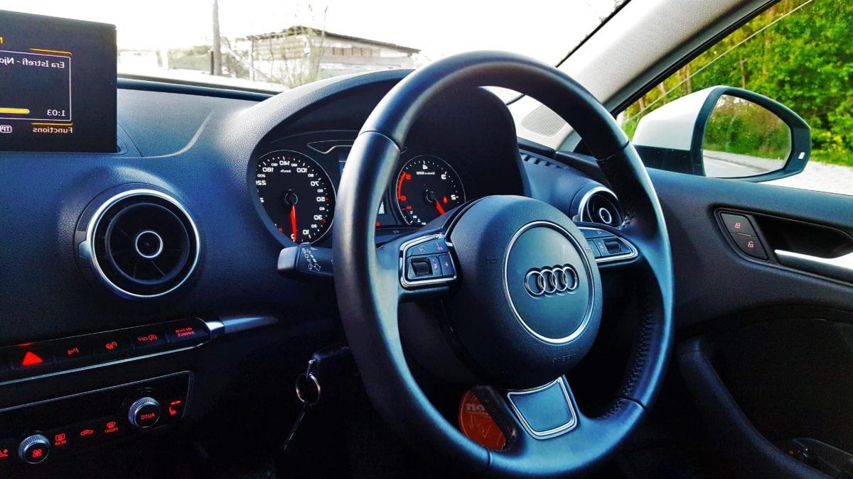 řídicí panel, řadicí páky, Rychloměr, čelní sklo, rychle, ujeté vzdálenosti, auto, jednotka