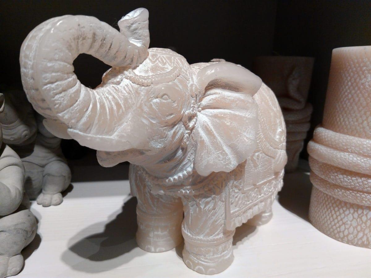 decorative, elephant, ivory, sculpture, pottery, art, handmade, shape