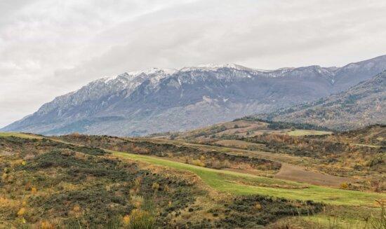 Ökotourismus, Hügel, Bergspitze, Hochland, Berg, Natur, Landschaft, Wolke