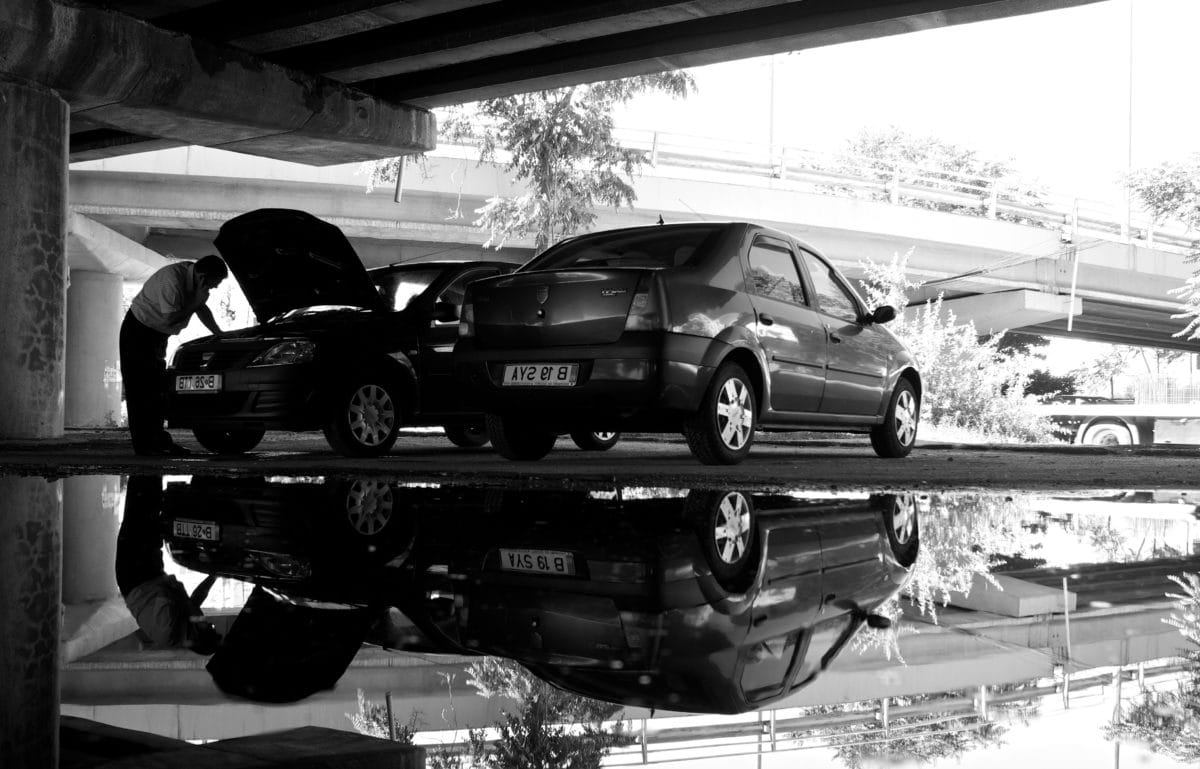 garaje, rueda, automóvil, transporte, vehículo, coche, neumático, coche