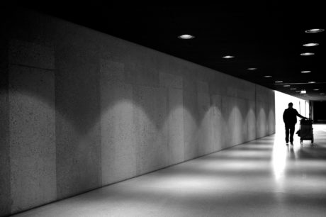 shadow, underground, monochrome, street, people, city, architecture, dark