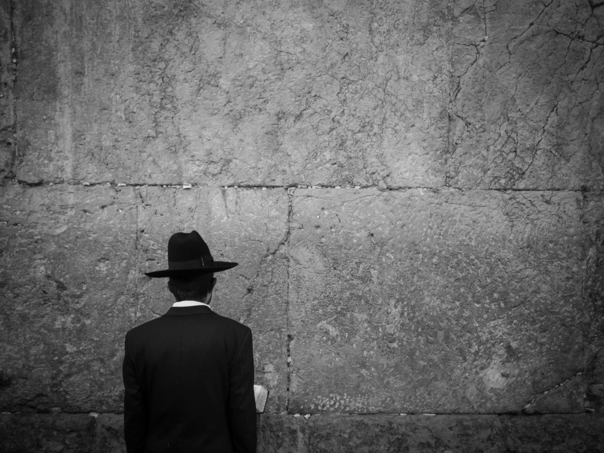 hat, prayer, religion, religious, wall, people, canopy, monochrome