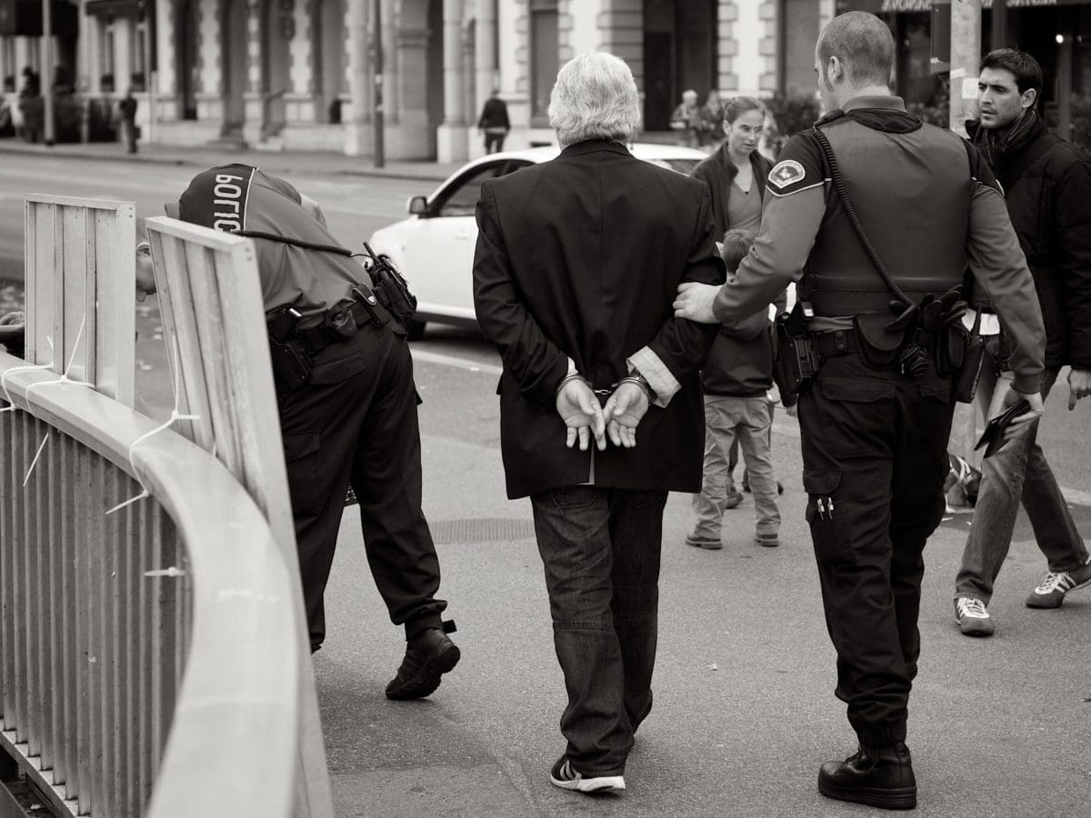 law, law enforcement, police, people, uniform, street, man, woman
