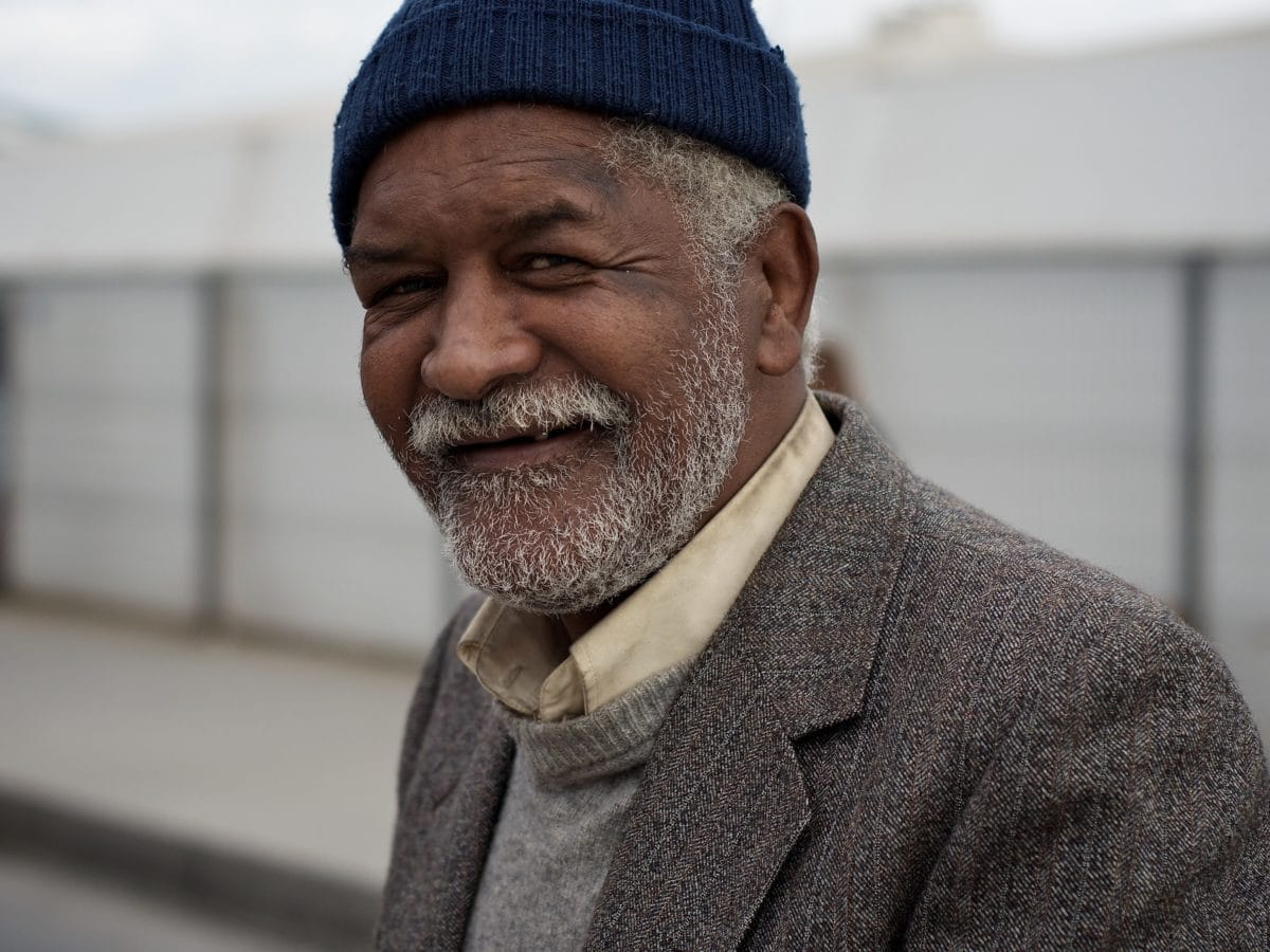 snor, gepensioneerde, knappe, persoon, man, portret, mensen, bovenkleding