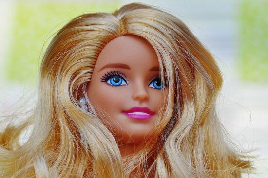 縦方向, 顔, 化粧, ファッション, かなり, 魅力的です, 人形, グラマー