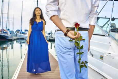 boyfriend, girlfriend, romance, Valentine's day, yacht club, yachts, woman, people