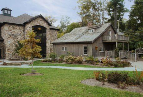 fasad, gräsmatta, pendeltåg, trädgård, egendom, hus, arkitektur, Skapa
