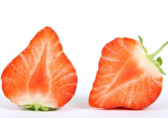 detail, slice, strawberries, strawberry, food, fruit, delicious, diet