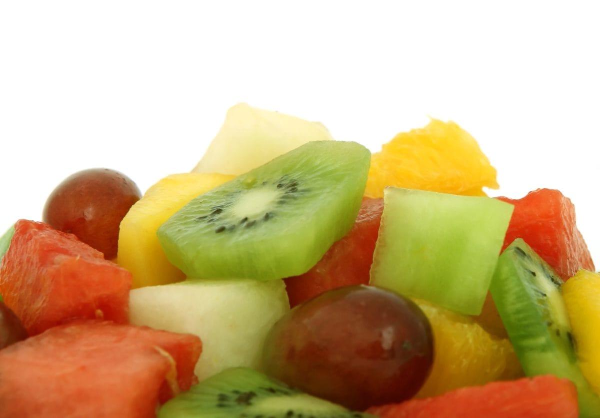 vegetabiliska, mat, Kiwi, sallad, peppar, frukt, kost, näringslära