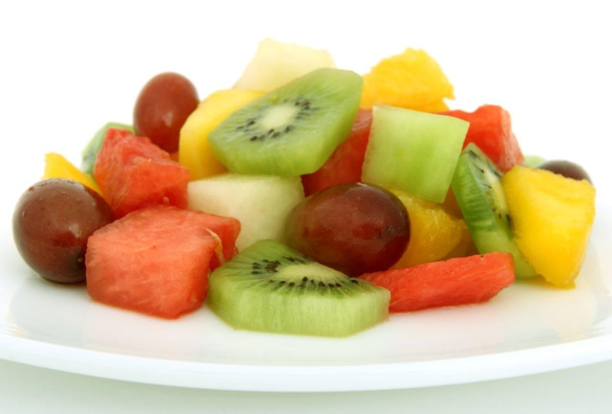 cítricos, Ensalada, alimentos, fruta, dieta, nutrición, Kiwi, delicioso
