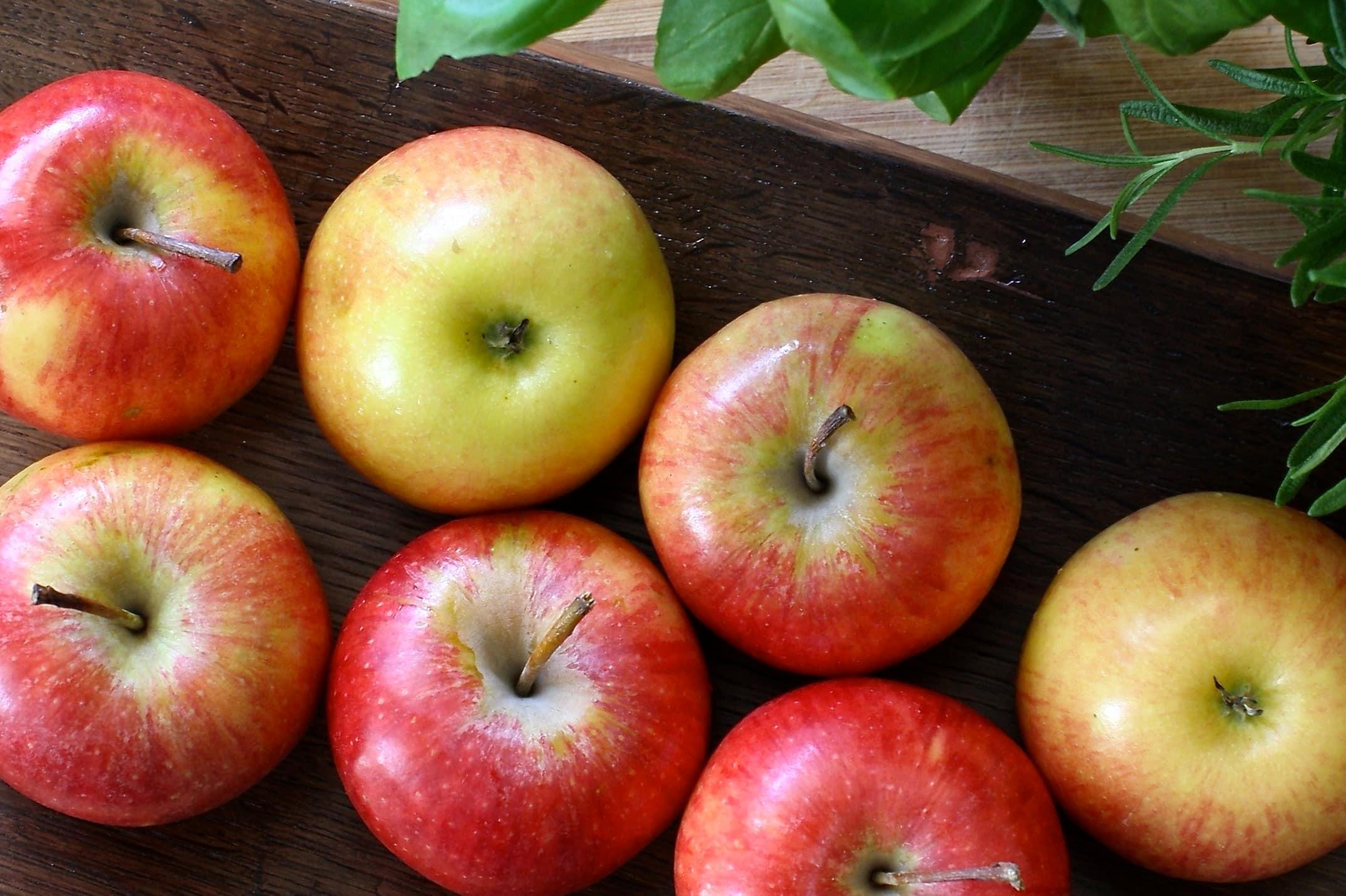 Вкусная яблочная диета