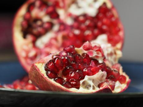 pomegranate, sweet, dessert, fruit, food, delicious, diet, breakfast
