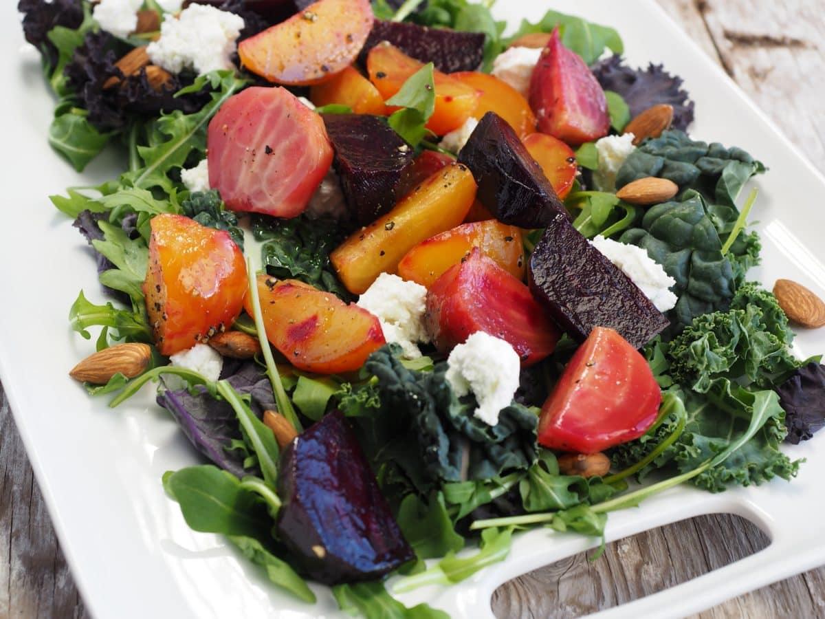 обяд, предястие, салата, храна, ястие, зеленчуци, диета, хранене