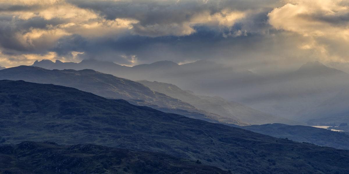 vuori, maisema, pilvi, Luonto, auringonlasku, sumu, Aurinko, valjeta