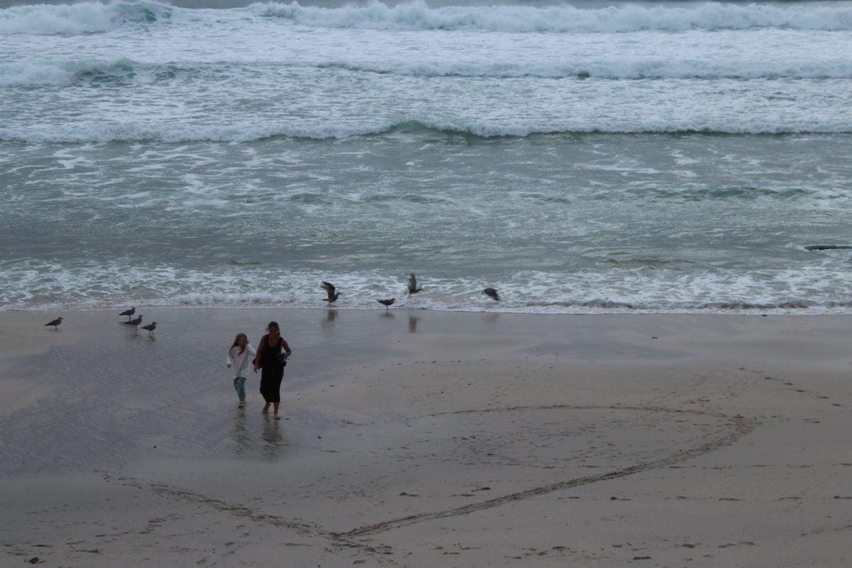 nyaralás, tengerpart, homok, tengerparti, strand, tenger, óceán, víz