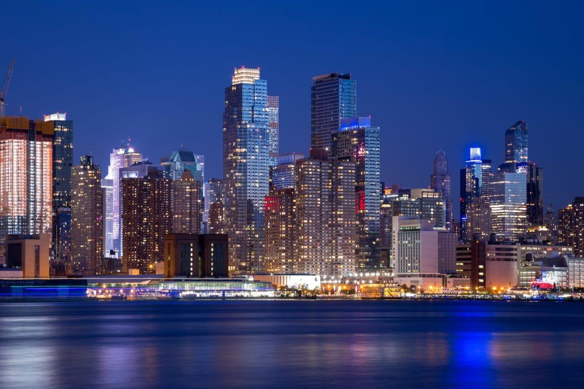 Skyline, arkkitehtuuri, Kaupunkikuva, kaupunki, hämärä, pilvenpiirtäjä, keskusta, toimisto