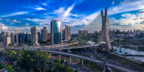 bridge, suspension bridge, city, travel, cityscape, downtown, skyline, architecture
