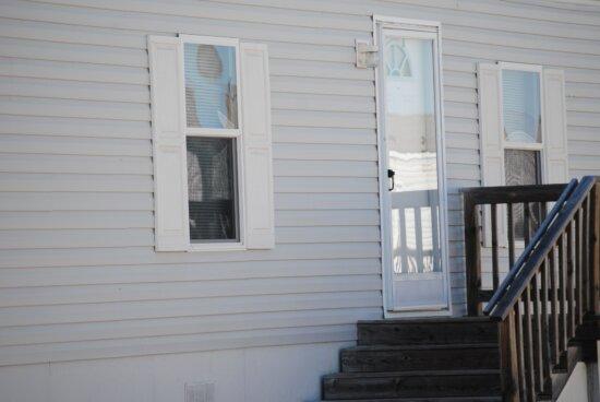 exterior, house, stairs, stairway, home, door, window, step