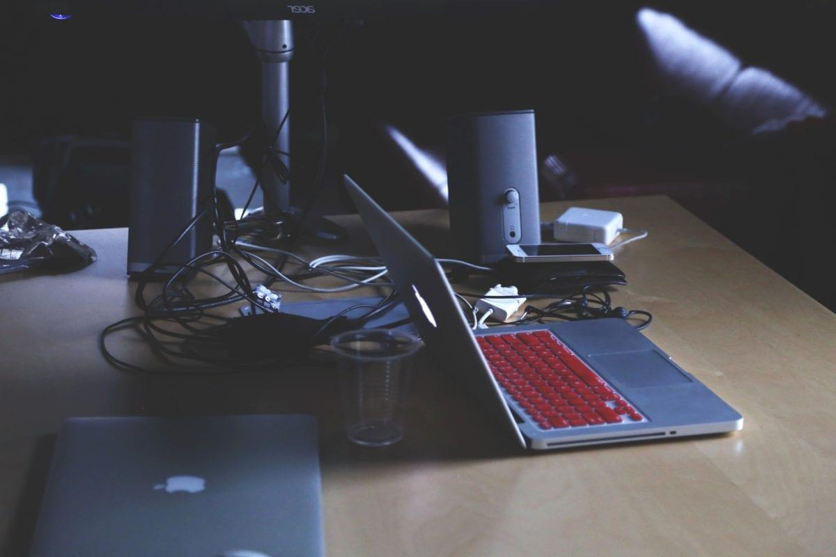bayangan, Kantor, komputer, Meja, Mebel, laptop, Meja, Bisnis