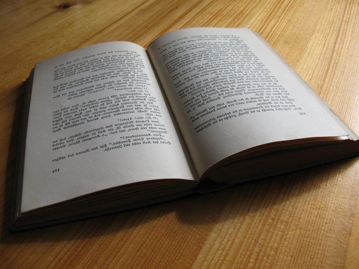 uddannelse, papir, side, oprettelse, muistikirja, bog, litteratur, træ