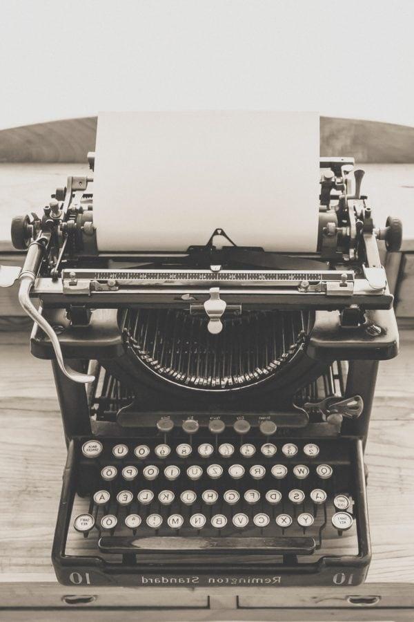machine à écrire, unité, clavier, Retro, antique, technologie, nostalgie, vieux