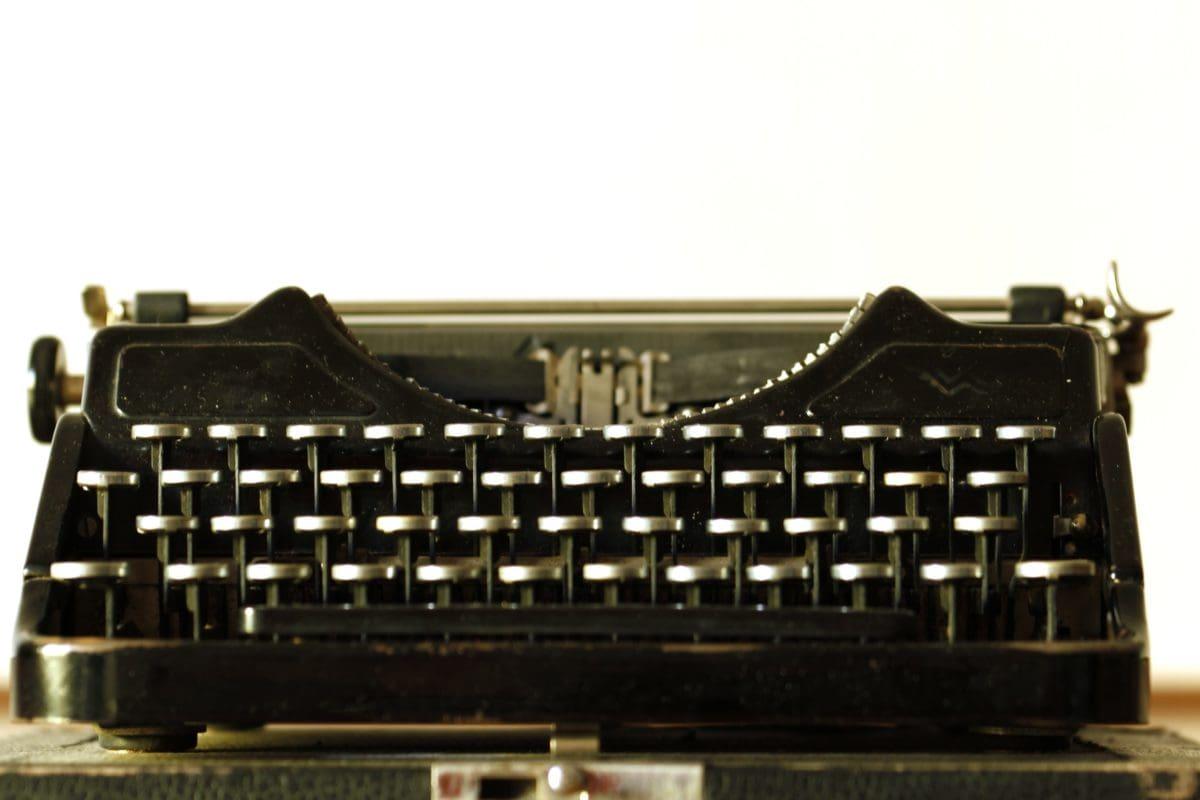 machine à écrire, type, technologie, Retro, vieux, clavier, nostalgie, classique
