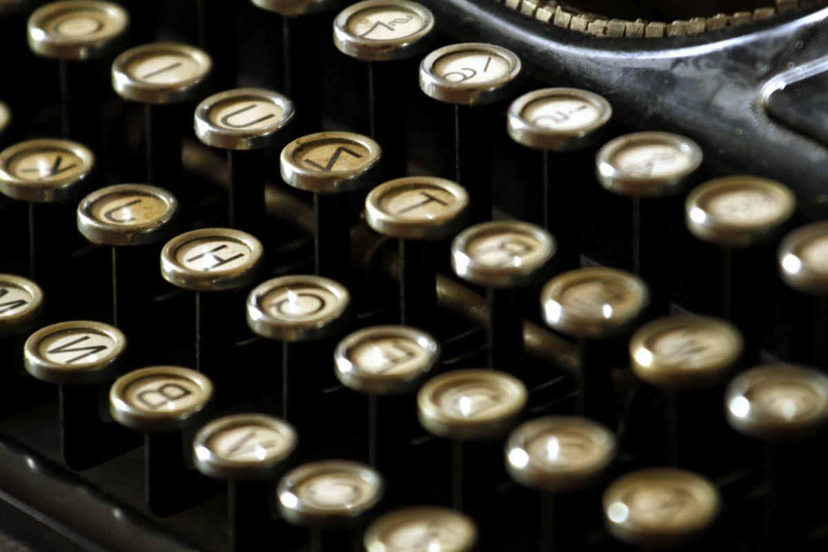 mesin tik, perangkat, abjad, papan tombol jari, Surat, Bisnis, desktop, teknologi