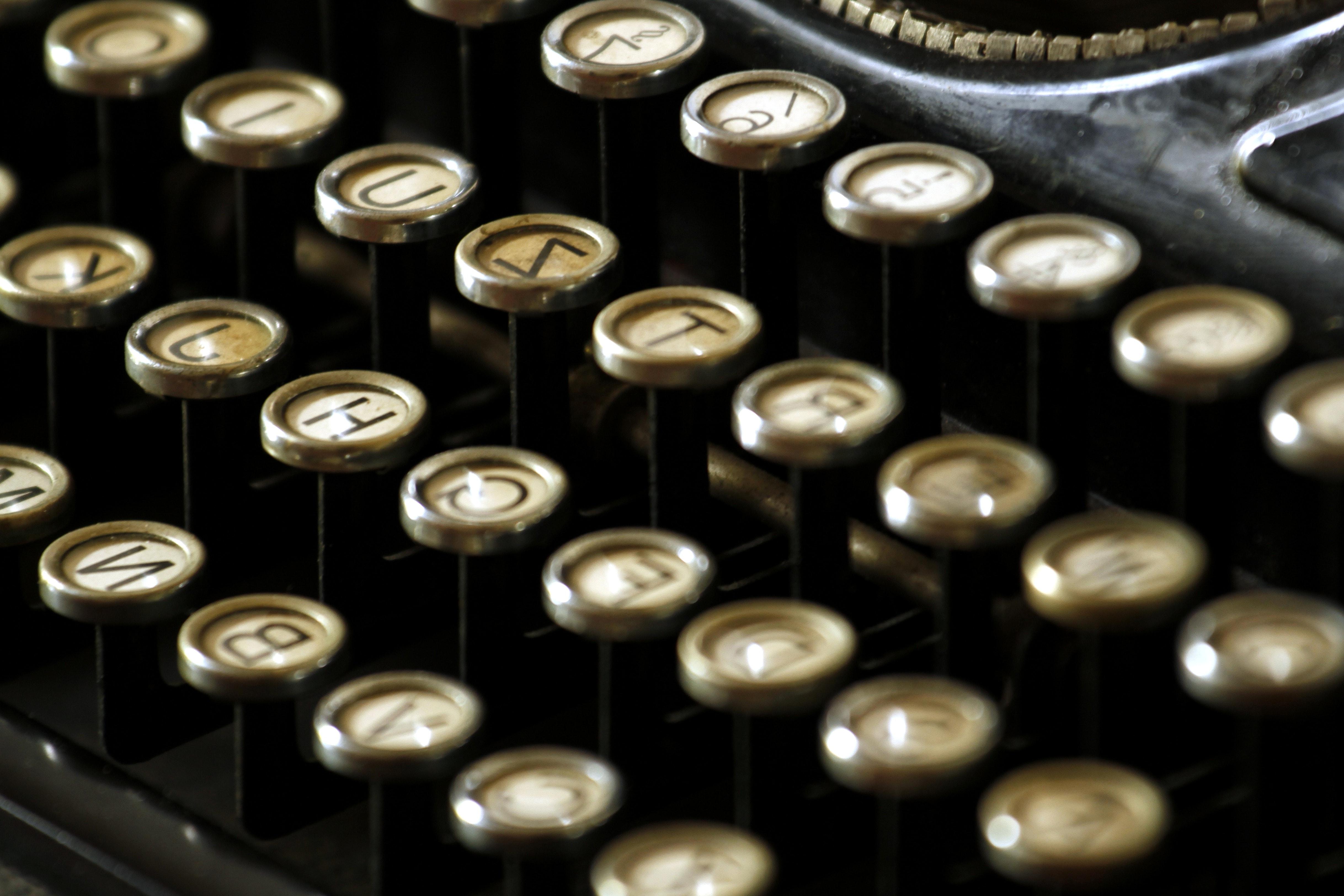 image libre  machine  u00e0  u00e9crire  unit u00e9  alphabet  clavier