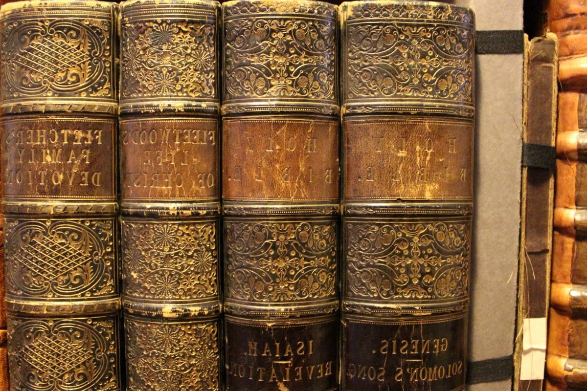 buku, lama, antik, kuno, retro, dekorasi, rak, seni