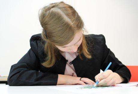 businesswoman, secretary, writing, office, homework, child, education, paper