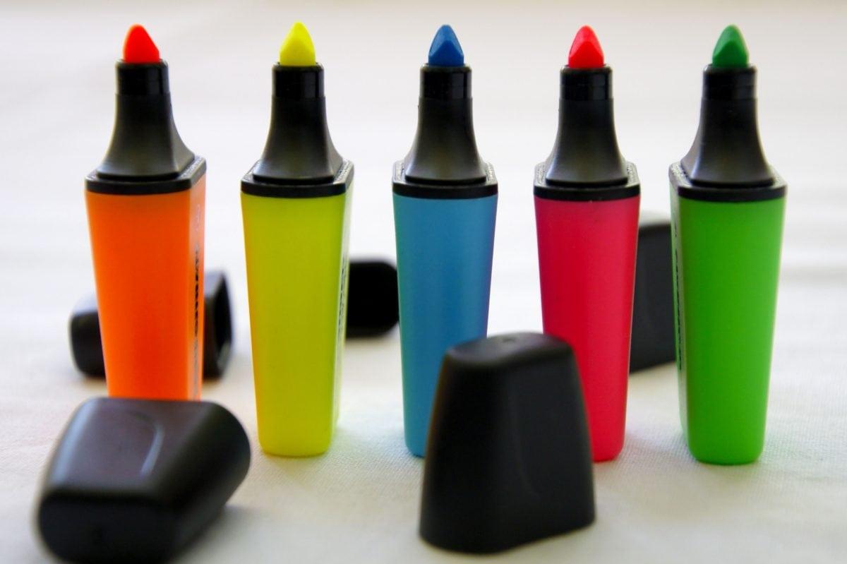 crayon, plastique, conteneur, Couleur, créativité, verre, nature morte, Groupe