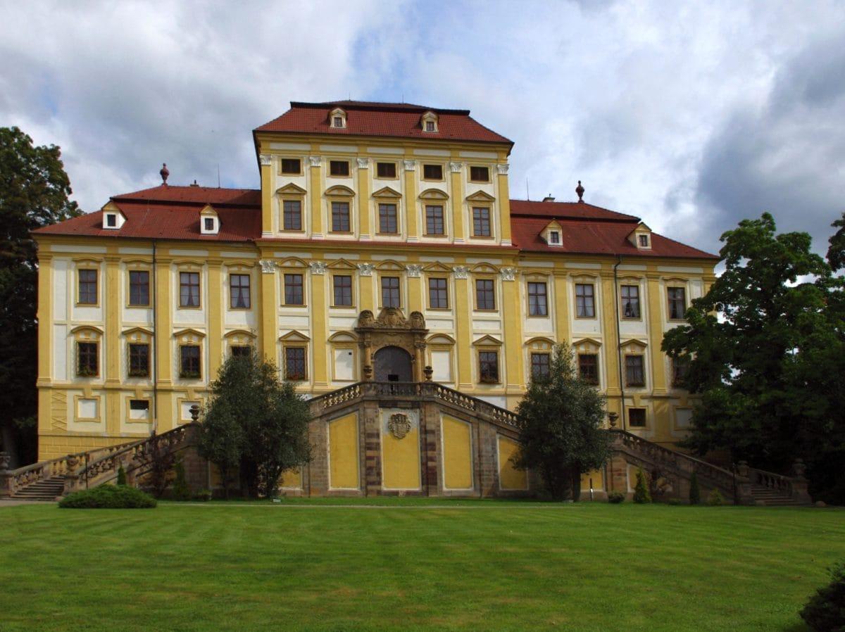 Palacio, arquitectura, construcción, residencia, Casa, césped, al aire libre