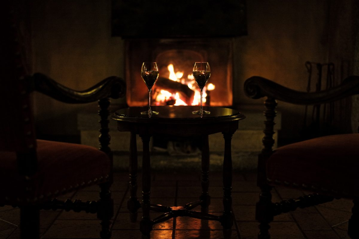 ombre, vin, Winery, flamme, cheminée, bougie, chambre, chaise