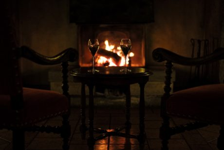 shadow, wine, winery, flame, fireplace, candle, room, chair