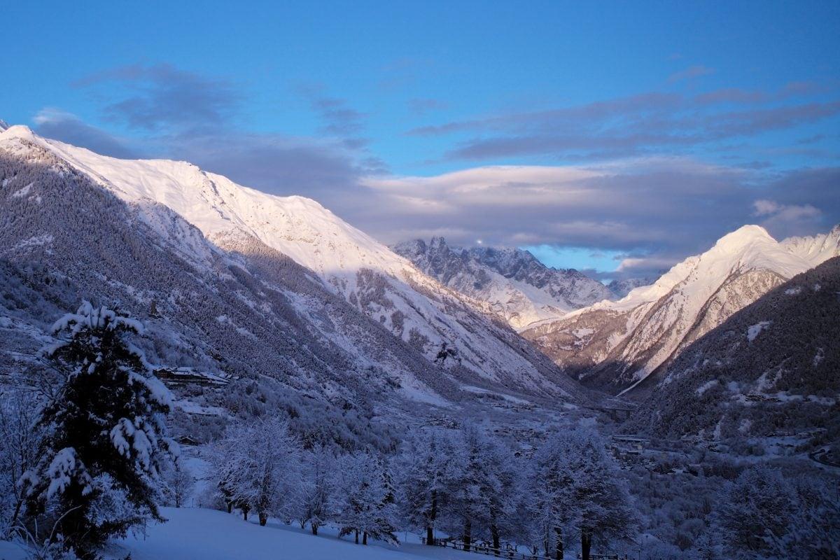 Висота, піку, діапазон, сніг, Гора, краєвид, гори, взимку