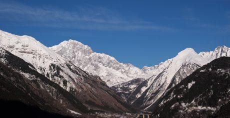 παγετώνας, τοπίο, κορυφή, χιόνι, βουνό, βουνά, αλπική, Εύρος