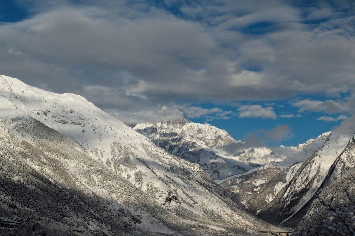 hory, vrchol, Ľadovec, Príroda, sneh, oblak, rozsah, vrch