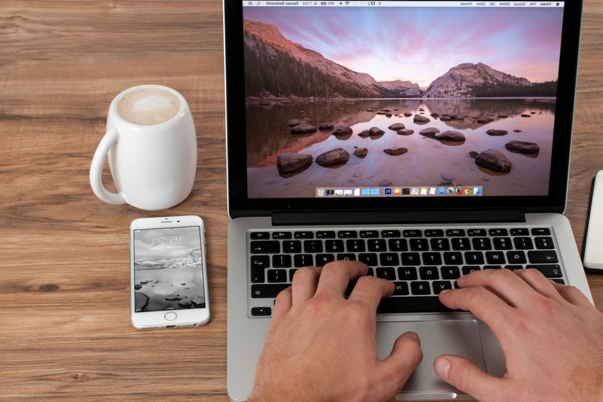 notebook, Technológia, obrazovky, počítač, laptop, káva, Internet, podnikanie