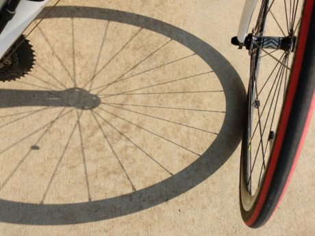 asphalt, bicycle, shadow, wheel, device, bike, recreation, leisure