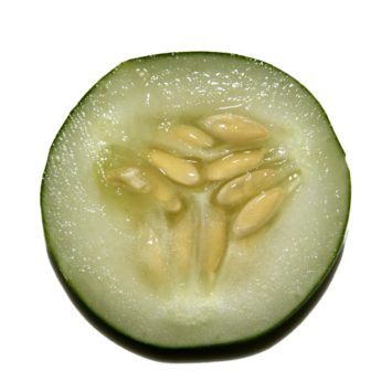 cucumber, kernel, seed, food, healthy, health, half, slice