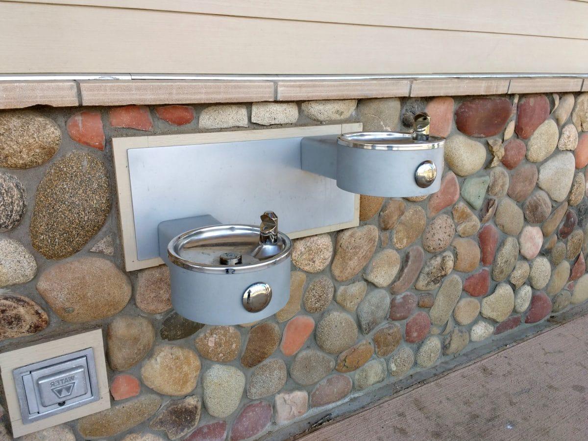 metal, Metallic, objekt, sten væg, væg, gamle, design, boks