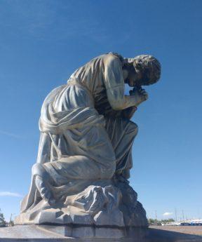 skulptur, molnet, monumentet, staty, konst, brons, marmor, barock