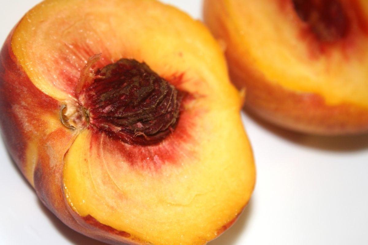 alimentos, fresco, dulce, fruta, saludable, melocotón, producir, nectarina