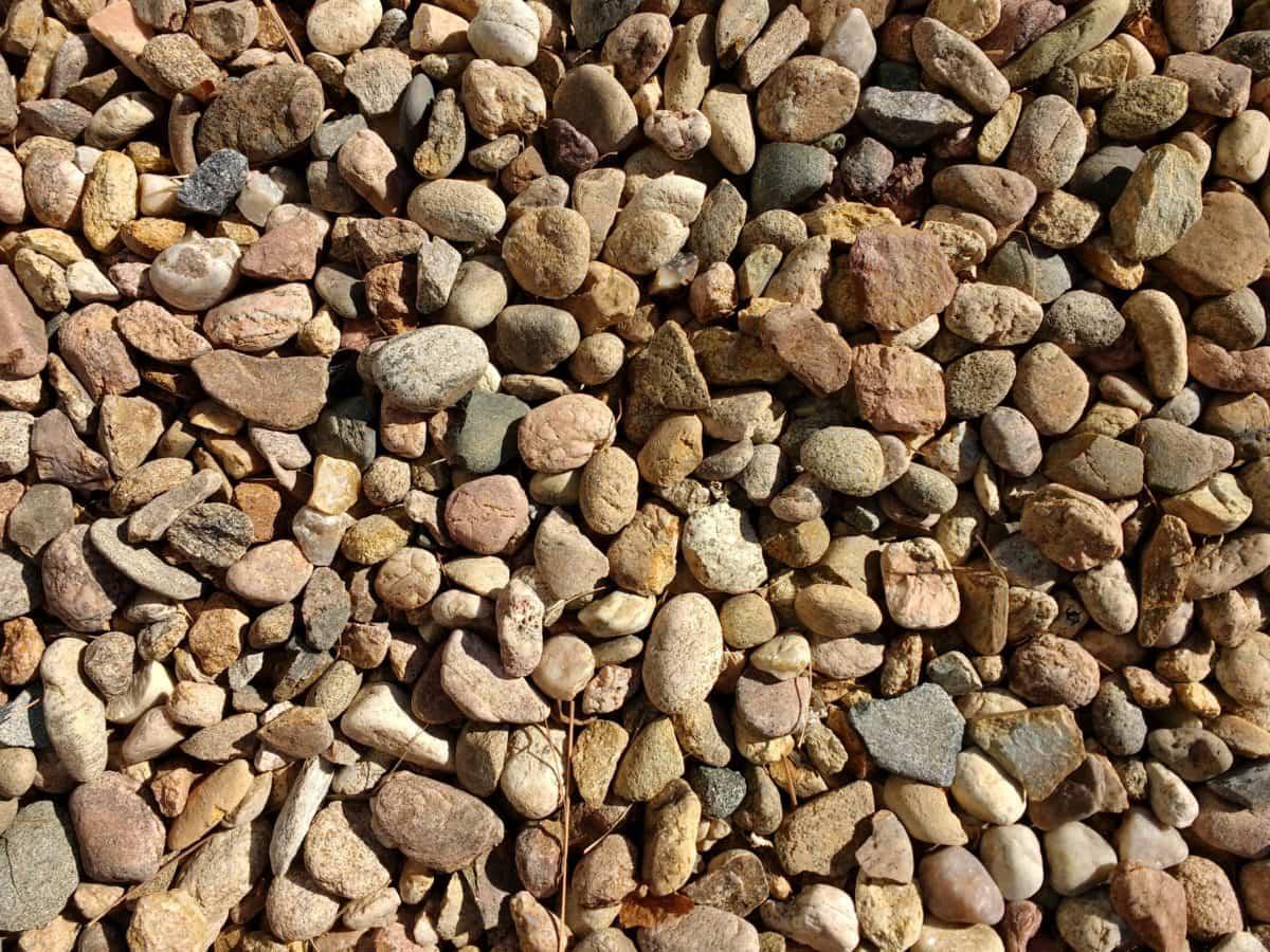 guijarro, textura, pila, piedra, muro de piedra, patrón de, áspero, seco