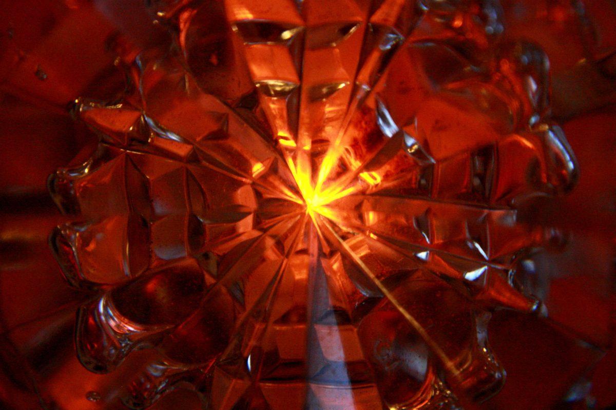Laser, rot, Reflexion, Glanz, transparente, glänzend, verwischen, hell